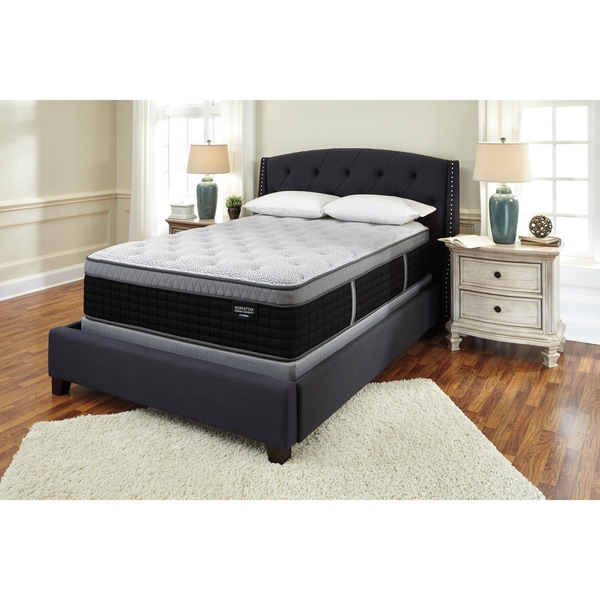 Sierra Sleep by Ashley Manhattan Design District Firm Euro Top King Mattress