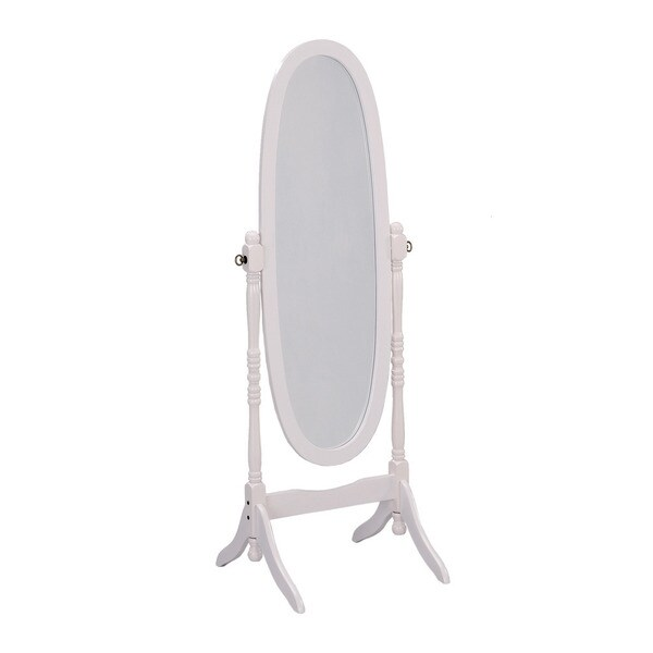 Artiva usa bella home deluxe 71 inch merlot full length mirror and - White Finish Cheval Standing Mirror 17550811 Overstock