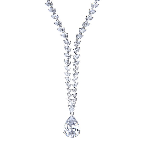 Fancy Vintage CZ Necklace