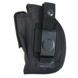 American Mountain Supply Ambidextrous Belt Clip Holster With Magazine Pouch