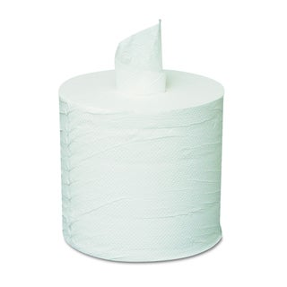 General Supply White Centerpull Towels (Pack of 6 Rolls)