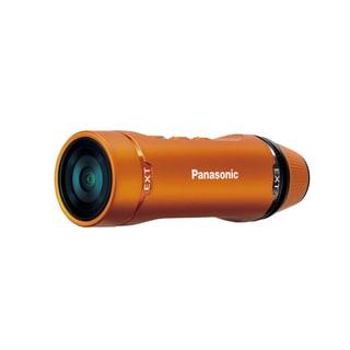 Panasonic Ultra-Light Wearable HD Action Cam Video Camcorder (Orange)