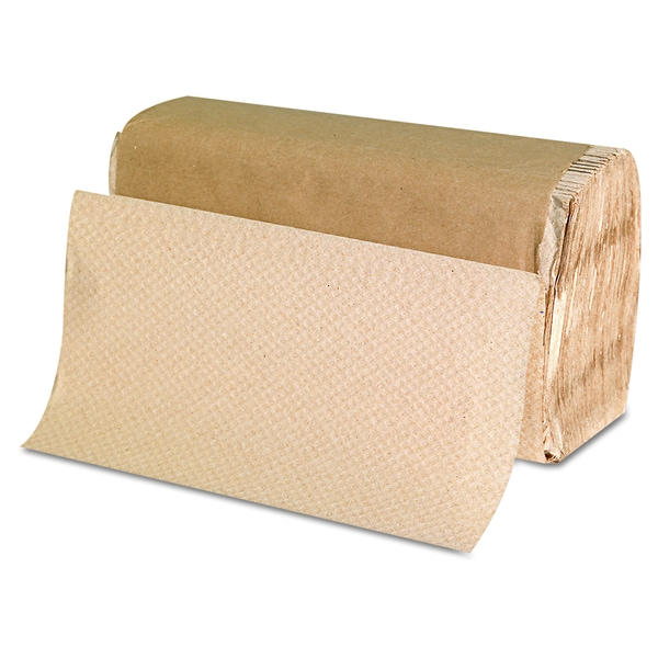 GEN Singlefold Kraft Paper Towels (6 Packs of 250 towels)
