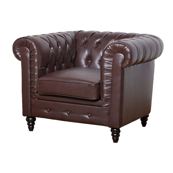 Arlington Walnut Club Chair