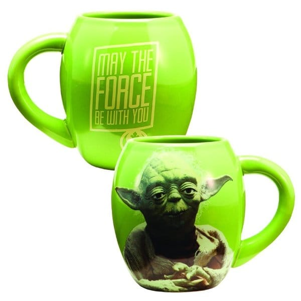 Star Wars Yoda 18 oz. Ceramic Oval Mug 16048377