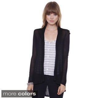 Juniors' Long Sleeve Fly Away Cardigan