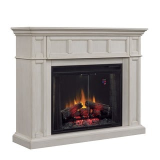 ClassicFlame Wall Mantel White