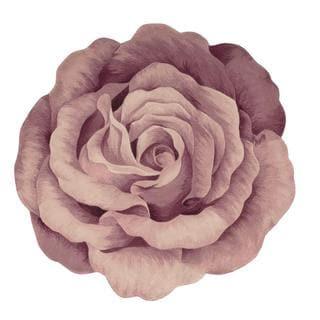 Nourison Bloom Mauve Rug (5' x 5')