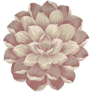 Nourison Bloom Pink Rug (6' x 6')