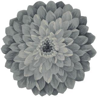 Nourison Bloom Denim Rug (6' x 6')