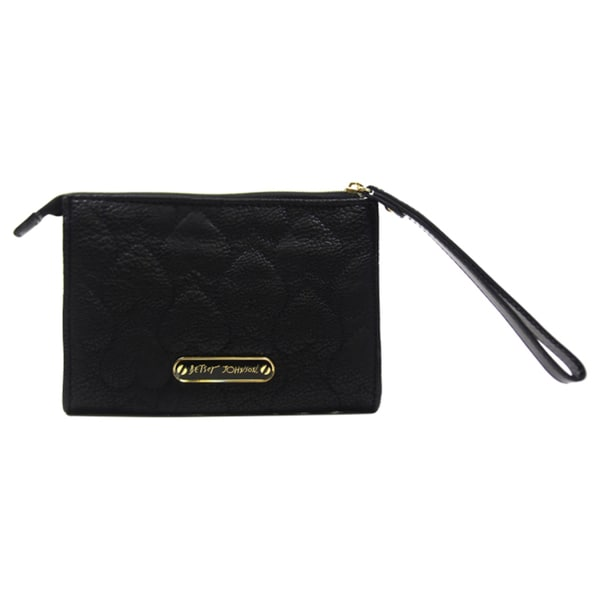 Betsey Johnson Yours Mine & Ours-Black Wrislet