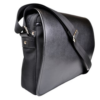 Royce Leather Saffiano Leatherry Laptop Messenger Bag