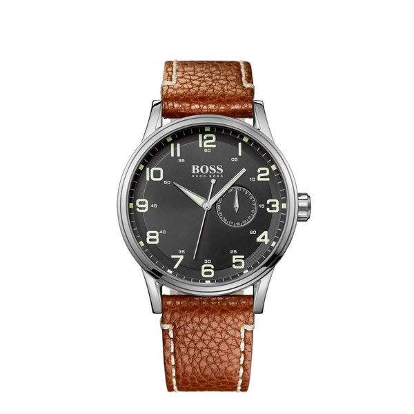 Hugo Boss Men's 1512723 Brown Leather Quartz Watch