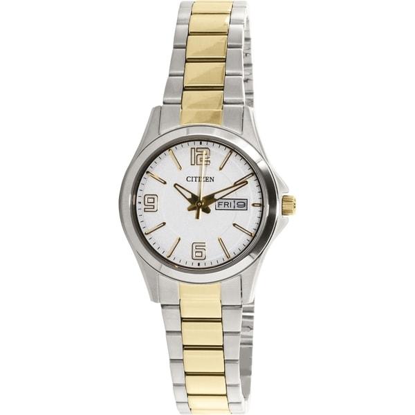 Citizen Women's EQ0594-58A Silver Metal Quartz Watch
