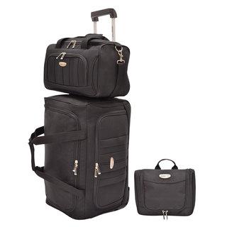 Traveler's Choice Rome Softside 3-piece Carry-on Luggage Set