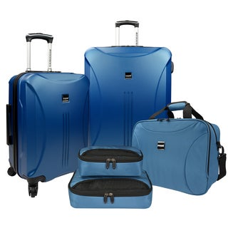 U.S. Traveler by Traveler's Choice Skyscraper 5-piece Hardside/ Softside Spinner Luggage Set