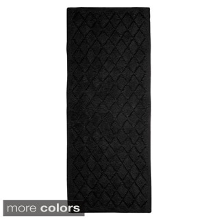 Avanti Solid Color 24 x 60 Bath Rug