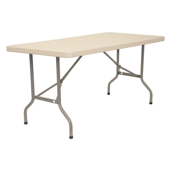 30-inch x 72-inch Blow Mold Folding Table