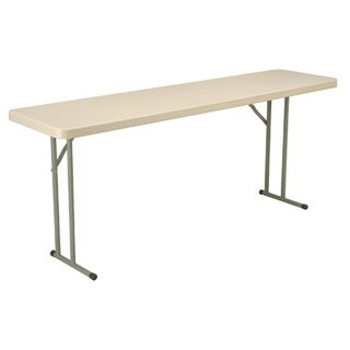 18-inch x 72-inch Blow Mold Folding Table