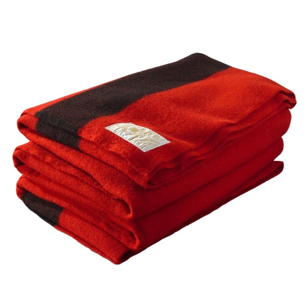 Woolrich Hudson's Bay 8-Point Scarlet Blanket