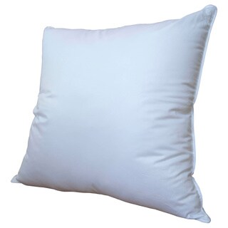 Luxury Primaloft Down Alternative Silky Sateen 400 Thread Count Euro Square Pillow
