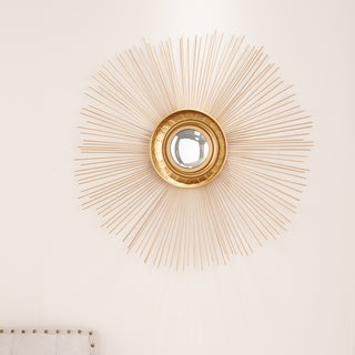 Upton Home Starburst Mirrored Wall Art