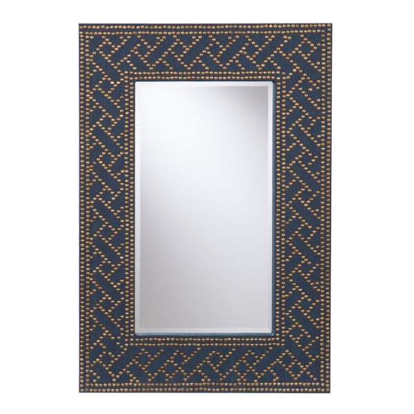 Upton Home Timson Navy Mirror