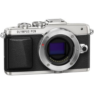 Olympus PEN E-PL7 16.1 Megapixel Mirrorless Camera Body Only - Silver