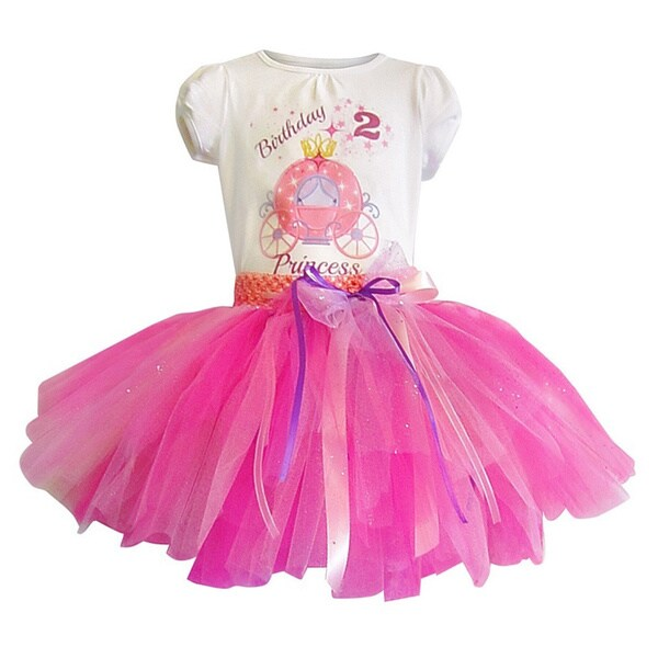 Princess Birthday Tutu Set