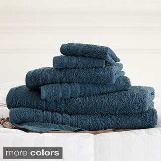 Cotton 6-piece Solid Towel Set