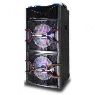 """Supersonic IQ-3812DJBT 12"""""""" Dual Pro BT Speaker"""