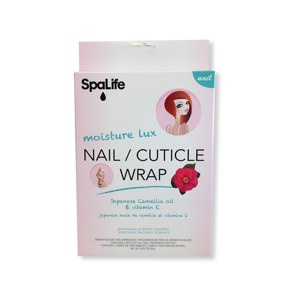 Spa Life Japanes Camellia Oil Vitamine E Nail Cuticle Wrap (3 Treatments)