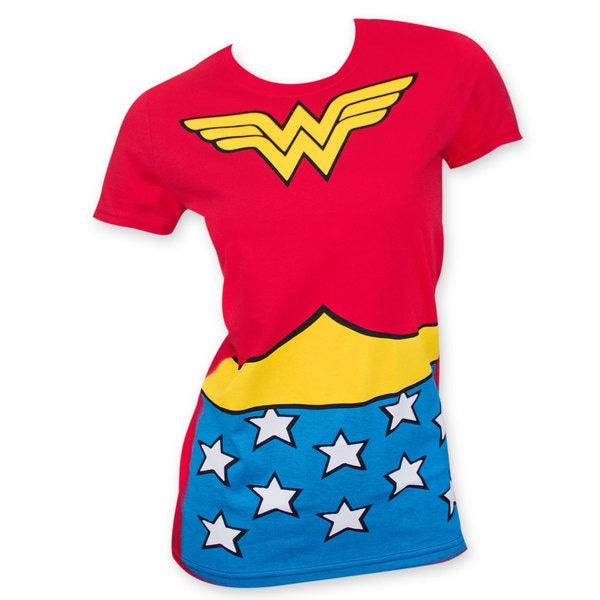 Women's Wonder Woman Suit Up T-Shirt