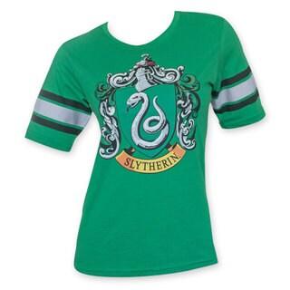 Women's Harry Potter Slytherin Green T-Shirt
