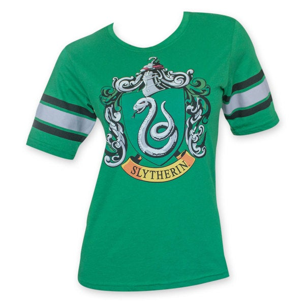 Women's Harry Potter Slytherin Green T-Shirt