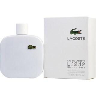 Lacoste L.12 12 Blanc Men's 5.9-ounce Eau de Toilette Spray