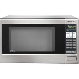 Panasonic NN-SN661S Stainless 1200W 1.2 cubic foot Countertop Microwave Oven with Inverter Technology (Refurbished)