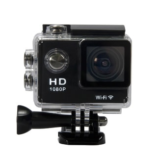 Waterproof 1080p Full HD Wi-Fi HDMI Sports Camera with 2.0-inch LCD Screen