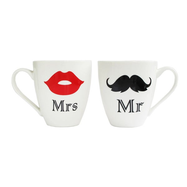 Mr. and Mrs. Mugs (Set of 2)