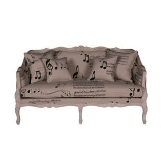 Toppenish Transitional Tan Printed Love Seat