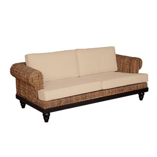 Nehalem Casual Brown Textured Love Seat