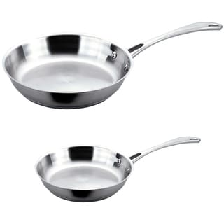 BergHOFF Copper Clad 2-piece 10-inch and 12-inch Fry Pan Set