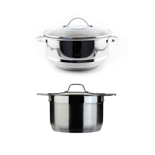 BergHOFF EarthChef Premium and Professional 2-piece Steamer Set
