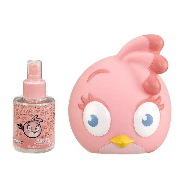 Angry Birds Pink 3.4-ounce Cologne Spray and Coin Bank