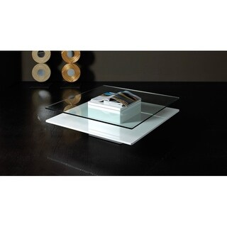 Modrest Emulsion Modern Glass Coffee Table