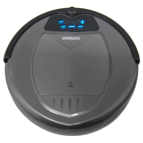 Infinuvo Hovo 620 Robotic Vacuum Cleaner with HEPA Filter and Dry Mop