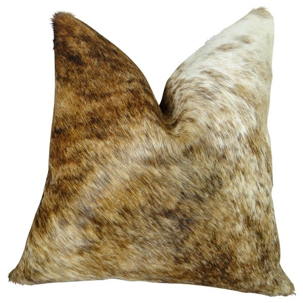 Plutus Medium Tri-color Handmande Throw Pillow