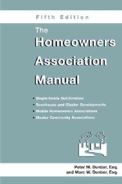 The Homeowners Association Manual (Paperback)