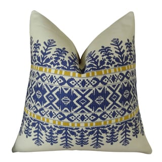 Plutus Aztec City Handmade Double Sided Throw Pillow