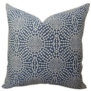 Plutus Bluebell Handmade Double Sided Throw Pillow